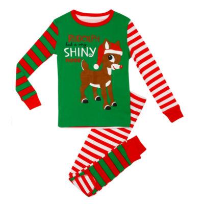 Rudolph The Red Nose Reindeer 2-pc. Pajama Set Boys