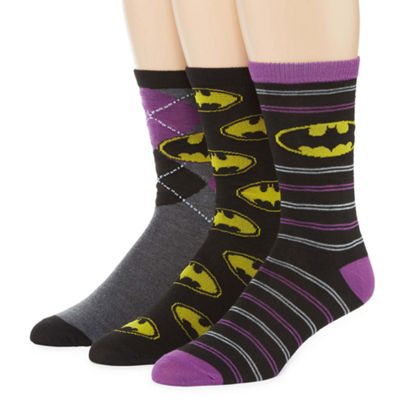DC Comics® Batman 3-pk. Crew Socks