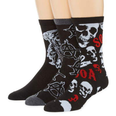 Sons of Anarchy 3-pk. Crew Socks