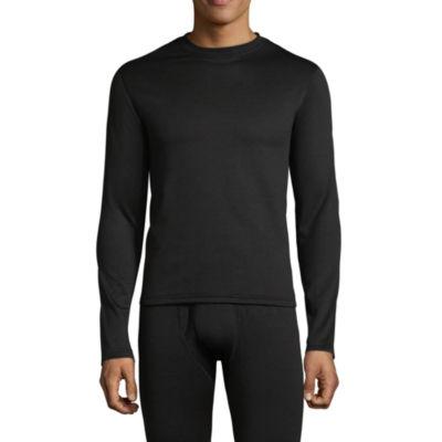 St. John's Bay Heavy Weight Grid Fleece Thermal Shirt