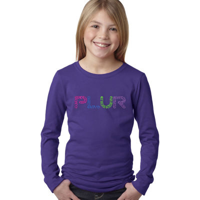 Los Angeles Pop Art Plur Graphic T-Shirt Girls