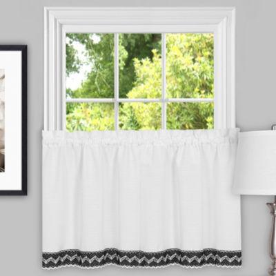 Camden Macramé Trimmed Decorative Window Treatments