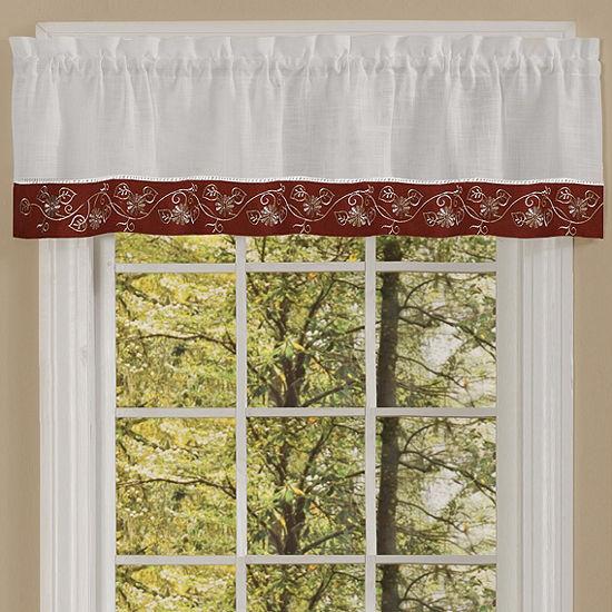 Oakwood Linen Style Kitchen Window Treatments