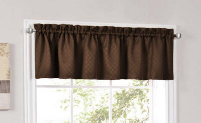 Facets Room Darken Blackout Insulated Kitchen Window Treatments