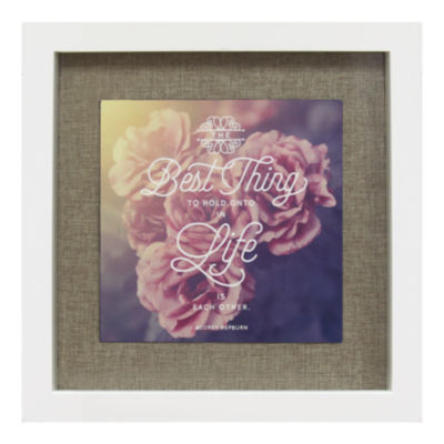Romantic Shadowbox Wall Décor Wall Sign
