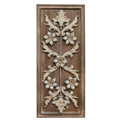 Vintage Panel Wall Décor Metal Wall Art