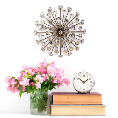 "16"" Acrylic Burst Wall Décor Metal Wall Art"
