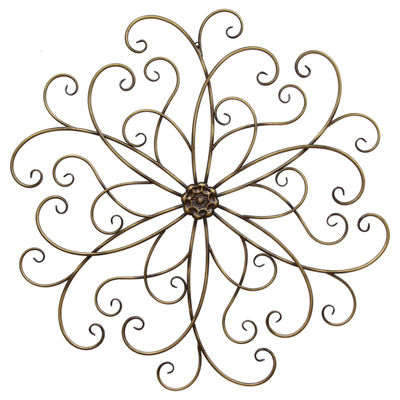 Spiral Abstract Wall Décor Metal Wall Art
