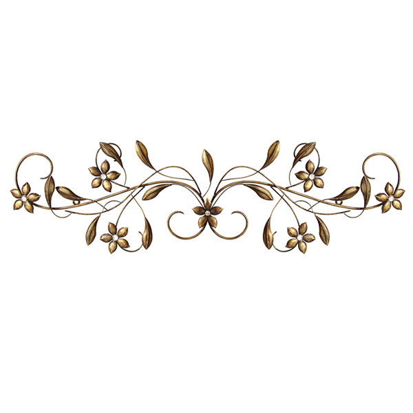 Vintage Scroll Wall Décor Metal Art