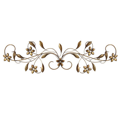 Stratton Home Vintage Scroll Wall Décor Metal Wall Art