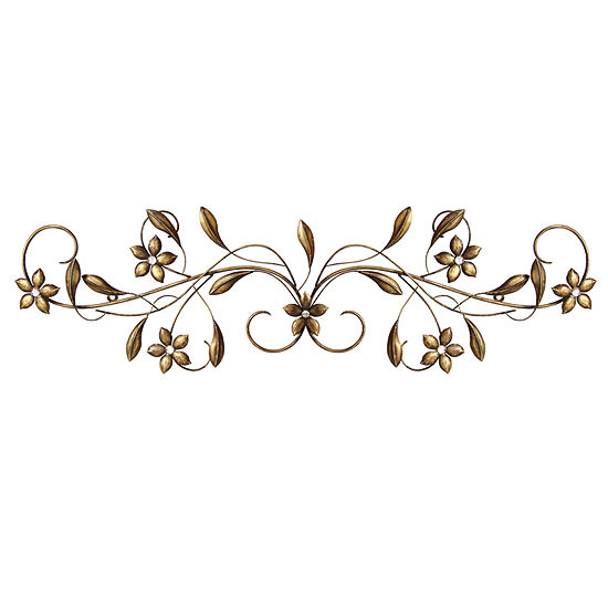 Vintage Scroll Wall Décor Metal Wall Art - JCPenney