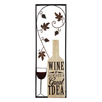 Wine Panel Wall Décor Wall Sign