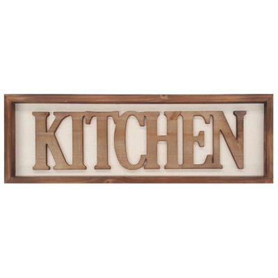 Kitchen Wall Art Wall Sign