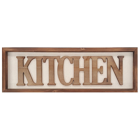 Stratton Home Decor Kitchen Wall Art Wall Sign
