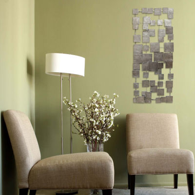 Geometric Tiles Wall Décor Metal Wall Art