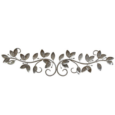 Galvanized Flower Wall Decor Metal Wall Art