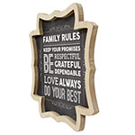 Stratton Home Decor Family Rules Wall Sign