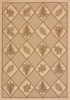 United Weavers Solarium Collection Woven Pine Indoor/Outdoor Rug