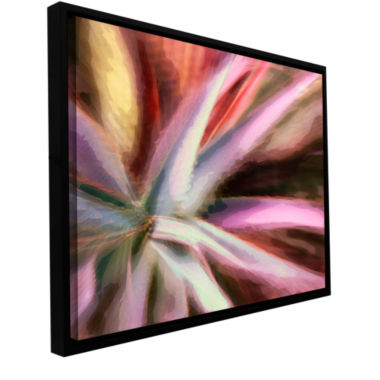 Brushstone 232-Arco Suculenta Gallery Wrapped Floater-Framed Canvas Wall Art