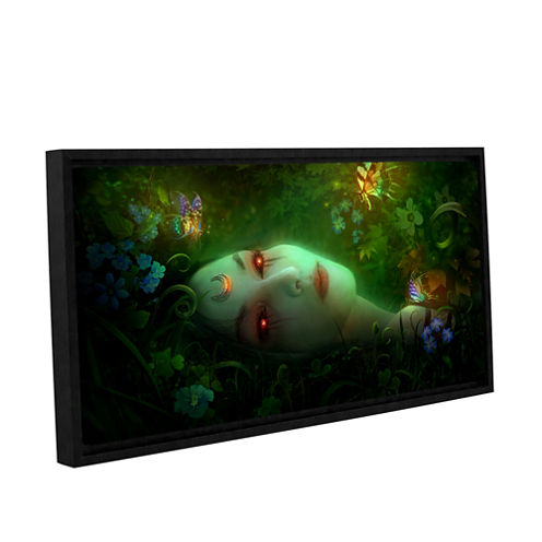 Aadyasha Gallery Wrapped Floater-Framed Canvas Wall Art
