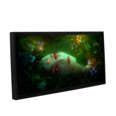Brushstone Aadyasha Gallery Wrapped Floater-FramedCanvas Wall Art