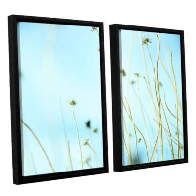 Brushstone 30 Second Daydream 2-pc. Floater FramedCanvas Wall Art