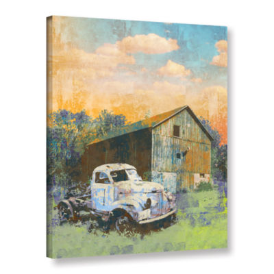 Brushstone Abandoned Gallery Wrapped Canvas Wall Art