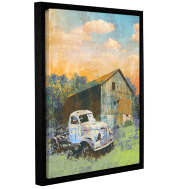 Brushstone Abandoned Gallery Wrapped Floater-Framed Canvas Wall Art