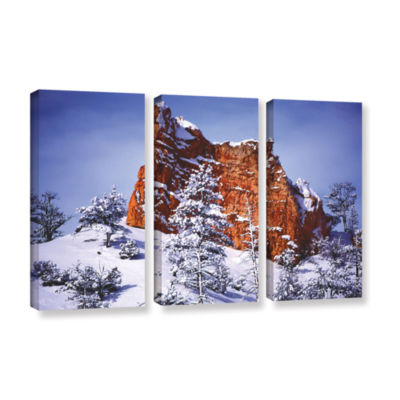 Brushstone After the Storm 3-pc. Gallery Wrapped Canvas Wall Art