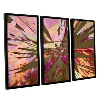 Brushstone Abini Succulent 3-pc. Floater Framed Canvas Wall Art