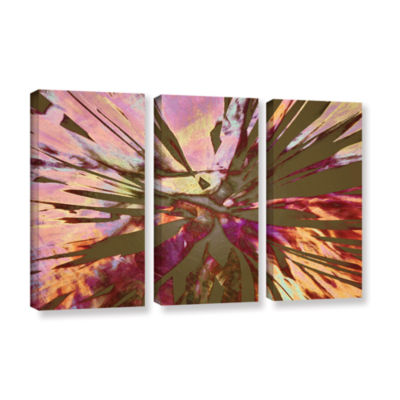 Brushstone Abini Succulent 3-pc. Gallery Wrapped Canvas Wall Art