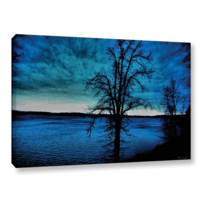 Brushstone After the Storm Gallery Wrapped CanvasWall Art