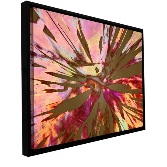 Brushstone Abini Succulent Gallery Wrapped Floater-Framed Canvas Wall Art