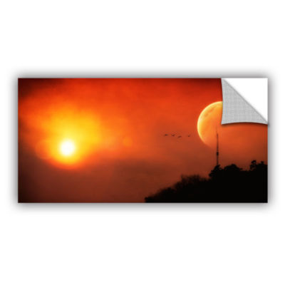Brushstone Above the Sun Removable Wall Decal