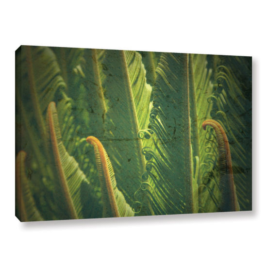 Brushstone Above The Waves Gallery Wrapped CanvasWall Art