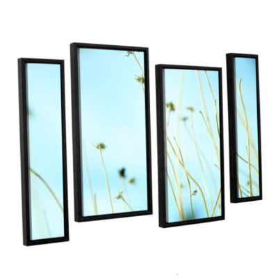 Brushstone 30 Second Daydream 4-pc. Floater FramedStaggered Canvas Wall Art