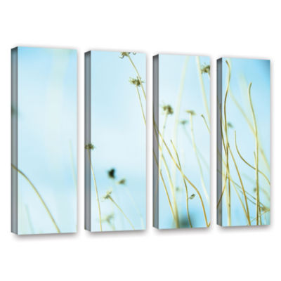Brushstone 30 Second Daydream 4-pc. Gallery Wrapped Canvas Wall Art