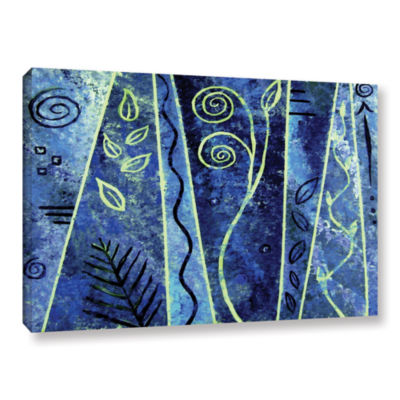 Brushstone Abstract 417 Gallery Wrapped Canvas Wall Art