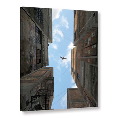 Brushstone Afternoon Gallery Wrapped Canvas Wall Art