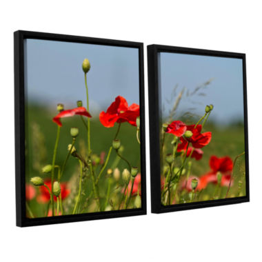 Brushstone 3097a 2-pc. Floater Framed Canvas WallArt
