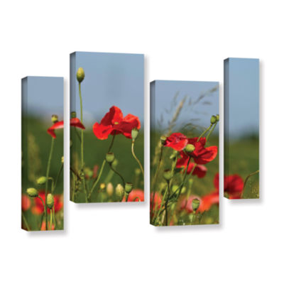 Brushstone 3097a 4-pc. Gallery Wrapped Staggered Canvas Wall Art