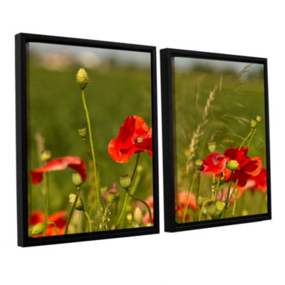 Brushstone 3114a 2-pc. Floater Framed Canvas WallArt