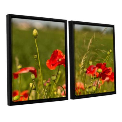 Brushstone 3114a 2-pc. Floater Framed Canvas WallArt