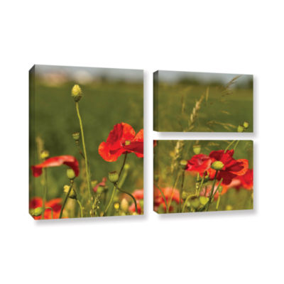 Brushstone 3114A 3-pc. Flag Gallery Wrapped CanvasWall Art