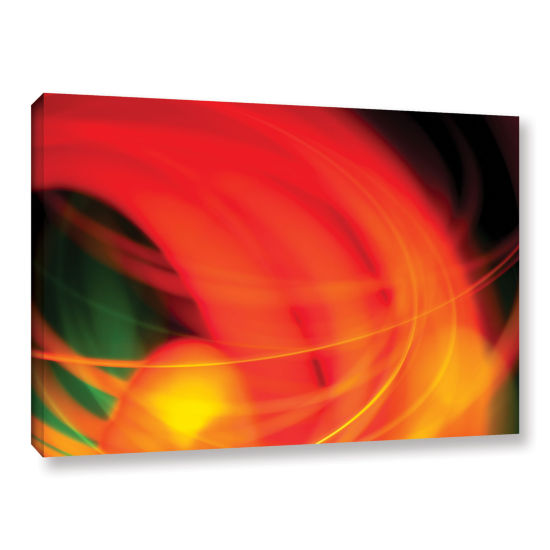 Brushstone Abstract Gallery Wrapped Canvas Wall Art