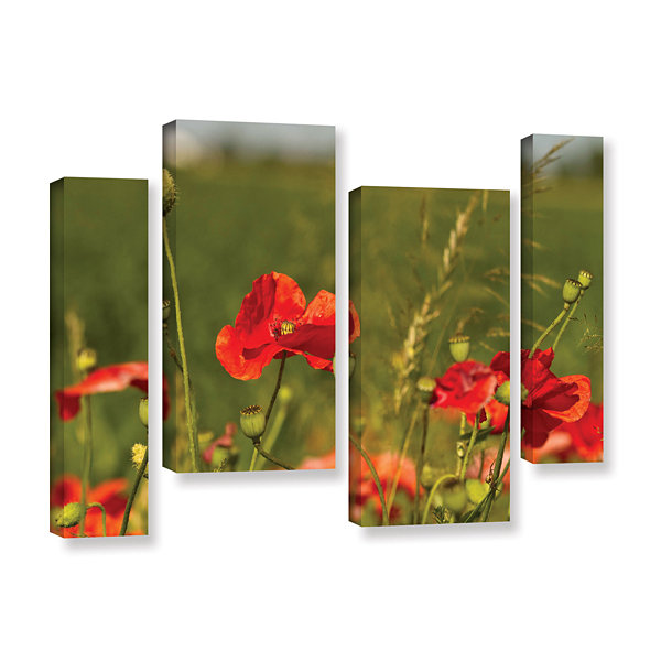 Brushstone 3114a 4-pc. Gallery Wrapped Staggered Canvas Wall Art