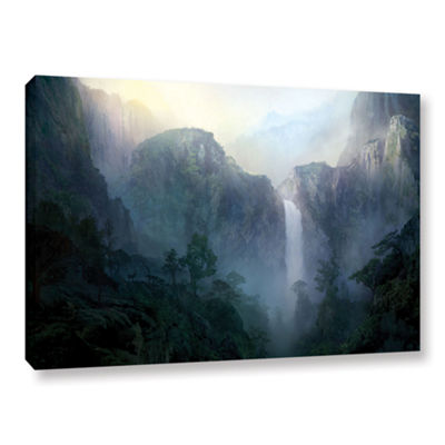 Brushstone Afternoon Light Gallery Wrapped CanvasWall Art