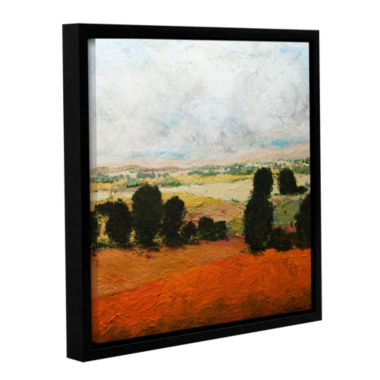 Brushstone 45 Acres Gallery Wrapped Floater-FramedCanvas Wall Art