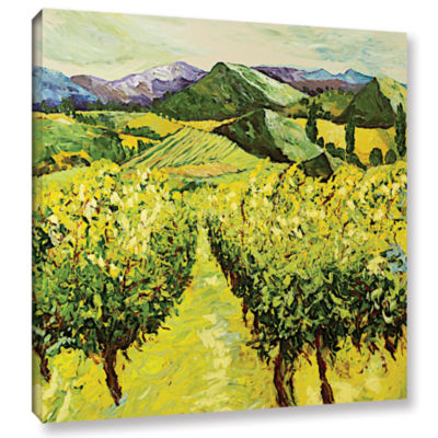 A Good Year Gallery Wrapped Canvas Wall Art