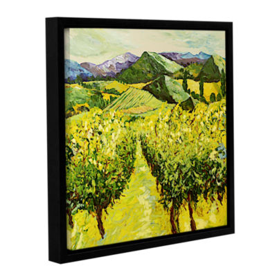 A Good Year Gallery Wrapped Floater-Framed Canvas Wall Art